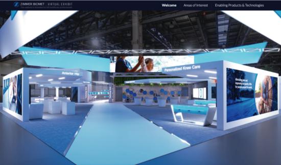 Zimmer Biomet virtual experience